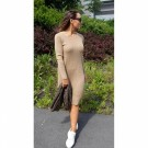 Close To My Heart - Adrienne Dress - Light grey thumbnail