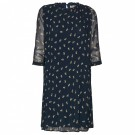 InWear - Ziri Dress - Marine Blue Flower thumbnail