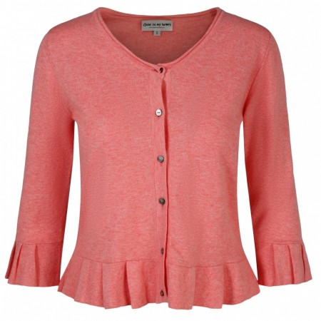 Close To My Heart - Darling Cardigan - Papaya