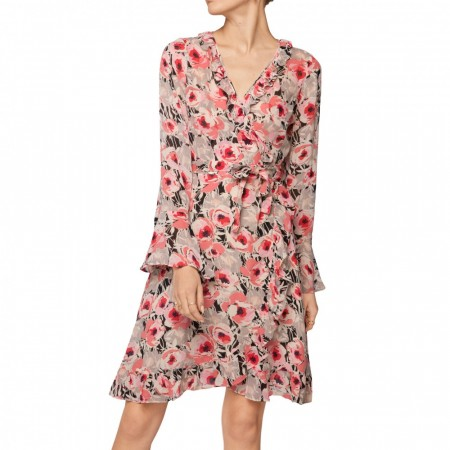 By Timo -  Semi Couture Wrap Dress - Anemone