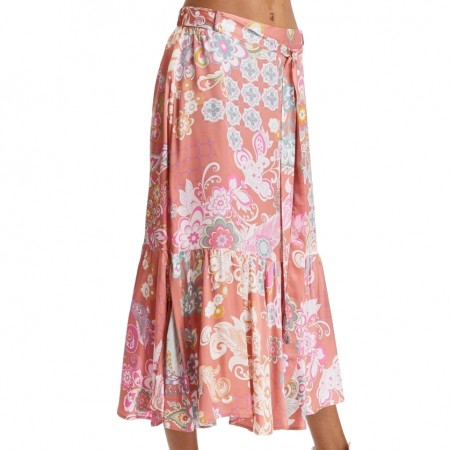 ODD MOLLY -  Wonderland Skirt - SOFT RED