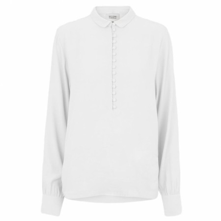 SECOND FEMALE - GANASH BLOUSE - WHITE