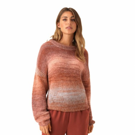 Second Female - Chi Knit New O-neck - henna