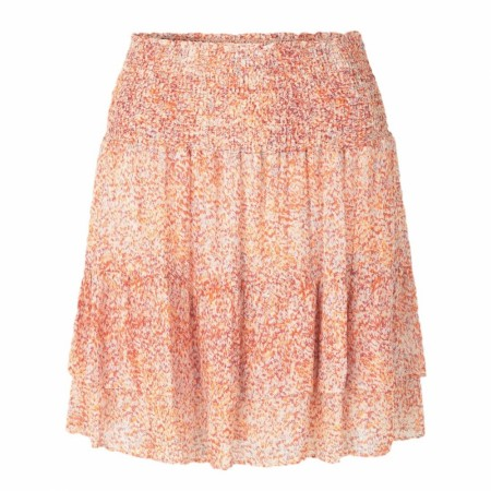 SECOND FEMALE - FLORAL MW SHORT SKIRT - FLORAL PRINT