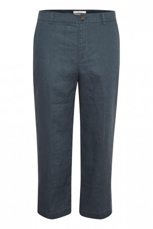 PART TWO - BEGITTAPW PANTS - BLUE GRAPHITE