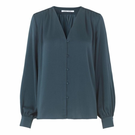 SAMSØE SAMSØE - JETTA SHIRT 12770 - MIDNIGHT NAVY