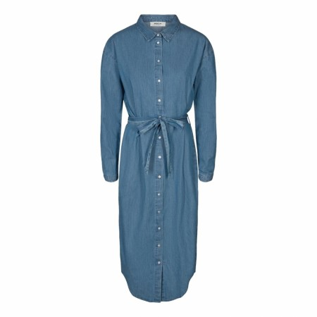 MSCH - LYANNA SHIRT DRESS - MID BLUE