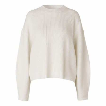 SAMSØE SAMSØE - GALIA CREW NECK 11016 - CLEAR CREAM