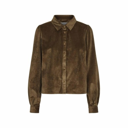 JUST - TOVA SHIRT - DRIED TOBACCO