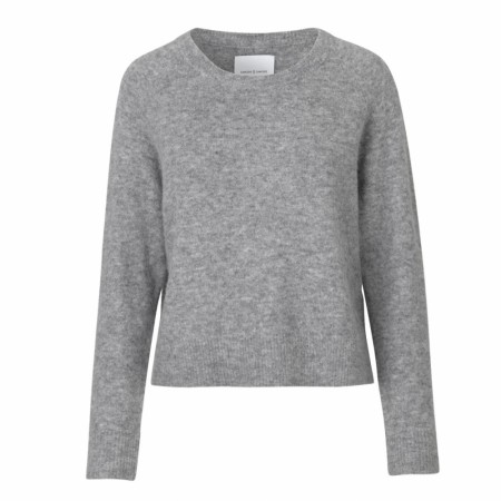 Samsøe & Samsøe - Nor O-n Short 7355 - grey melange