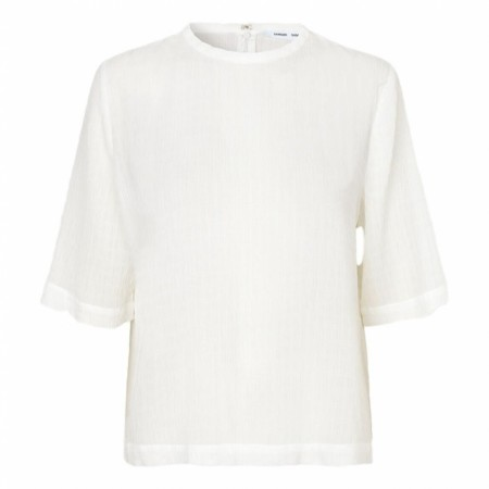 SAMSØE SAMSØE - ISABEL BLOUSE SS 11156 - CLEAR CREAM