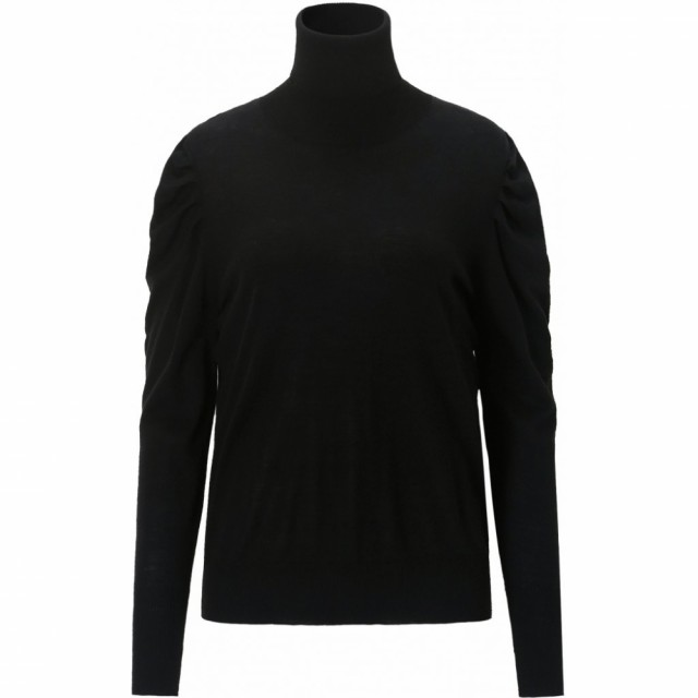 CLOSE TO MY HEART - PAIGE TURTLENECK - BLACK