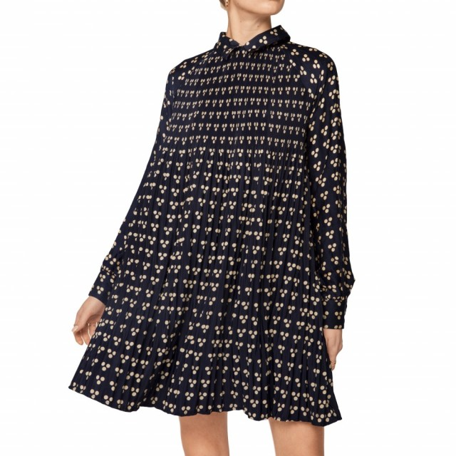 ByTimo - Plisse Blouse - Japanese Dots