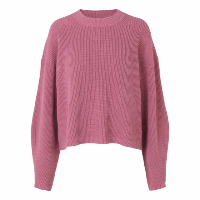 SAMSØE SAMSØE - CLEA CREW NECK 11437 - HEATHER ROSE