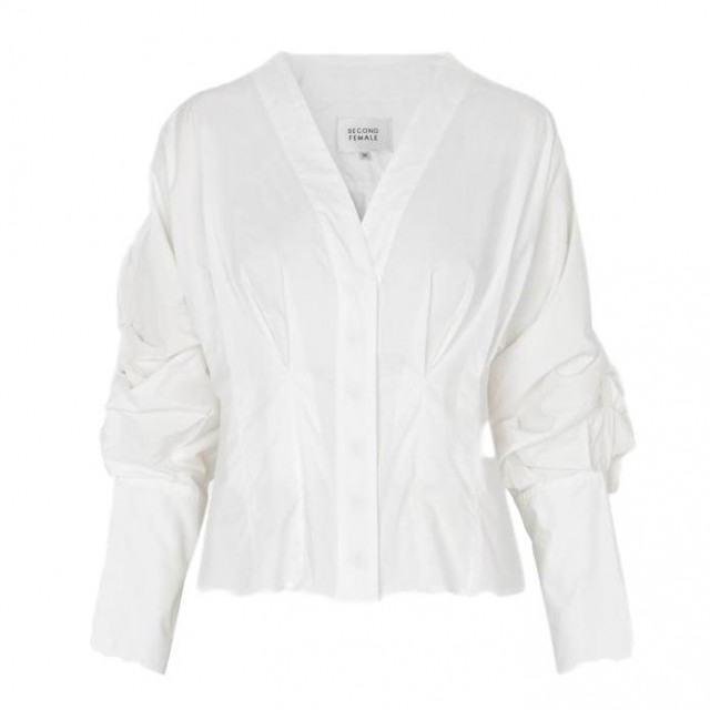SECOND FEMALE - ADDISON SHIRT - WHITE