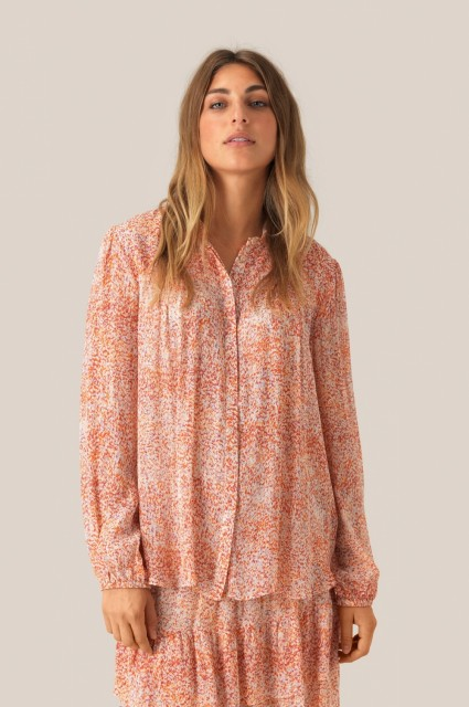 SECOND FEMALE - FLORAL LS SHIRT - MULTI